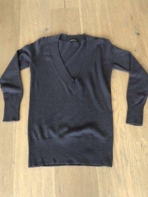 Repeat Cashmere Oversized Sweater slate-gray cashmere