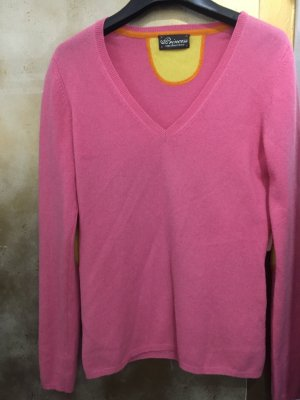 Princess goes Hollywood Pullover in cashmere rosa-giallo
