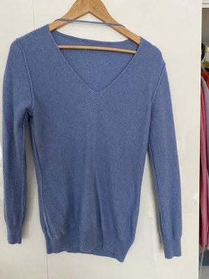 Cashmere Jumper cornflower blue