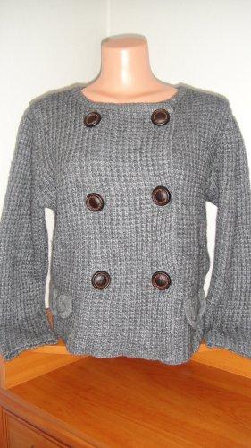 Autumn cashmere Pull en cashemire gris-gris foncé cachemire