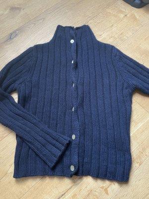 Kasjmier trui donkerblauw