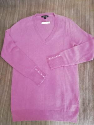 Cassani Sudadera de cachemir rosa