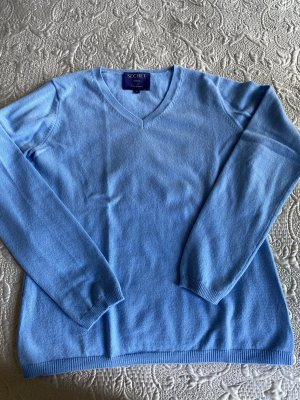 secret Cashmere Jumper neon blue