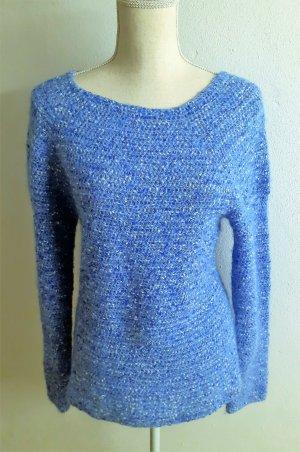 Assuili Kaszmirowy sweter niebieski
