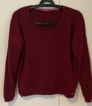 Cashmere Pullover Bordeaux