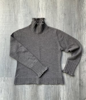 Kaszmirowy sweter taupe