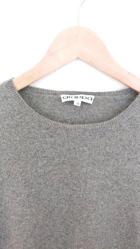 Pullover in cashmere grigio