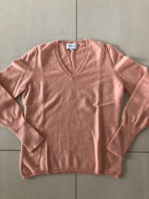 Cashmere Pullover in zartem Lachs Ton