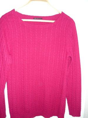 C&A Cashmere Jumper magenta cashmere