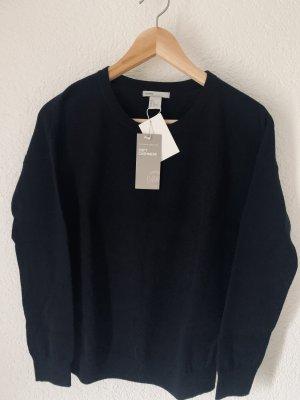 Cashmere Pullover schwarz Neu! S