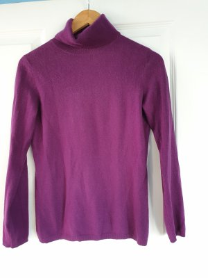 Darling Harbour Pullover in cashmere lilla Cachemire