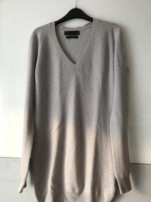 Zara Pullover in cashmere grigio chiaro