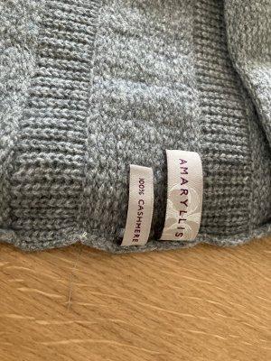 Amaryllis Cashmere Scarf grey