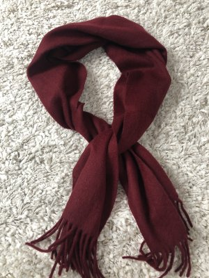 Cashmere - Schal in Bordeaux