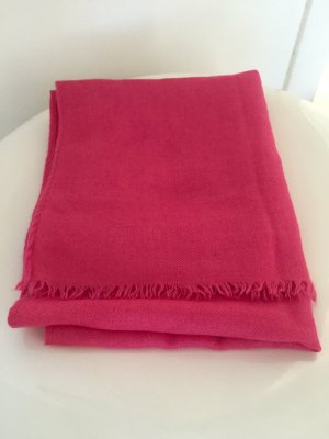 Bufanda de cachemir rosa Cachemir