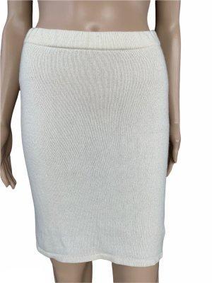 Jupe tricotée beige clair cupro