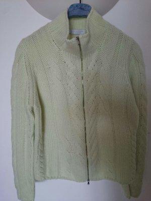 Le Tricot Longhin Cashmere Jumper pale green cashmere