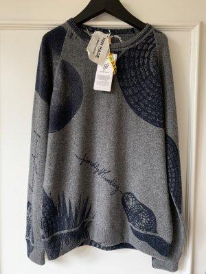 Friendly Hunting Pullover in cashmere grigio-blu scuro