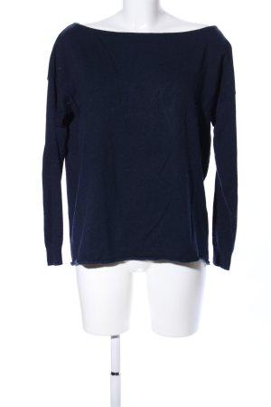 Cashmerepullover blau Casual-Look