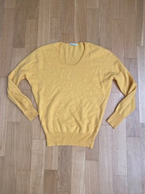 Sudadera de cachemir amarillo Cachemir