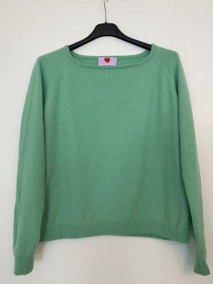 Herzensangelegenheit Pullover in cashmere verde