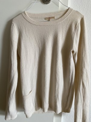 Stephan Boya Pullover in cashmere bianco sporco