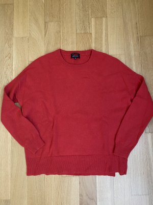 Woolrich Kaszmirowy sweter czerwony Kaszmir