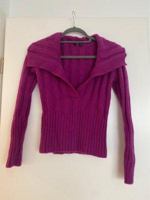 Strenesse Cashmere Jumper purple cashmere
