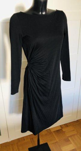 Armani Wollen jurk zwart