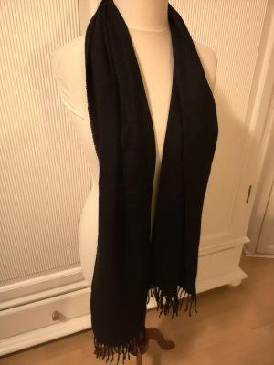 Fraas Bufanda de lana negro Lana