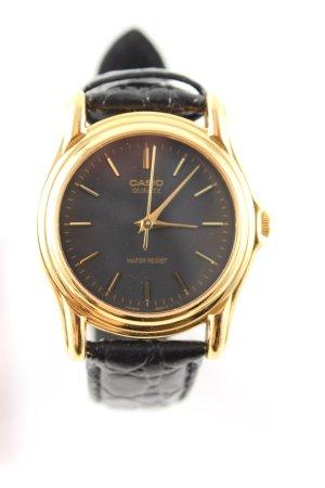 Casio Reloj analógico color oro-negro estilo «business»