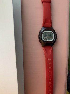 Casio Montre numérique rouge