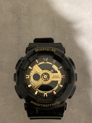 Casio Digital Watch gold-colored-black