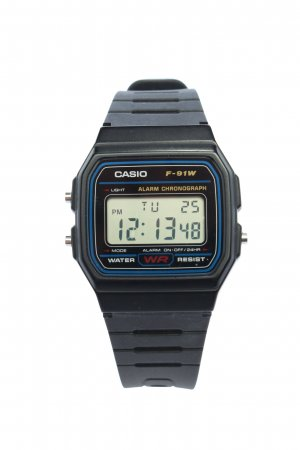 Casio Reloj digital negro look casual