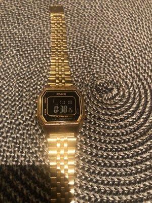 Casio Digital Watch silver-colored-gold-colored