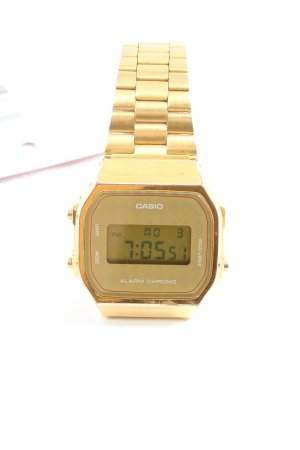 Casio Reloj digital color oro look casual