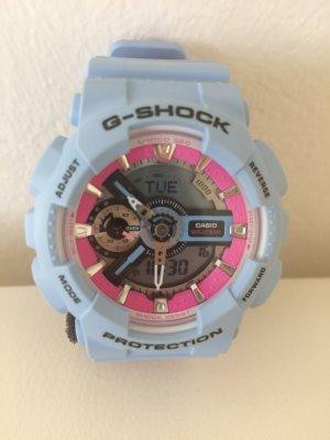 Casio Analog Watch azure-pink