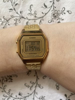 Casio Self-Winding Watch gold-colored