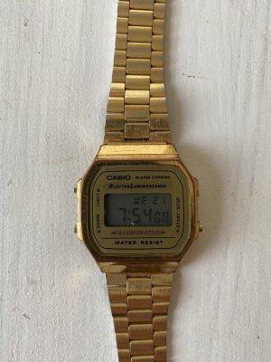 Casio Zegarek cyfrowy złoto
