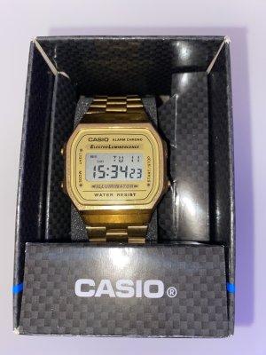 Casio Digitaal horloge goud Oranje