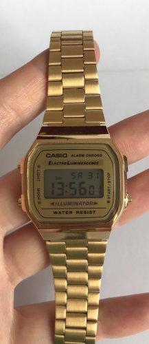 Casio Unisex Armbanduhr Collection A168WG-9EF gelbgold digital leicht Trend Neu