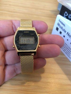 Casio Digital Watch gold-colored-black