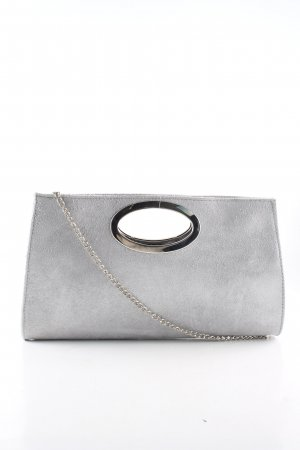 Caspar Borsa clutch argento stile casual