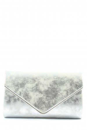 Caspar Clutch silver-colored elegant