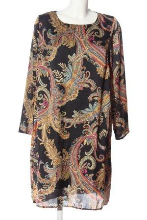 Caspar David Longsleeve Dress allover print casual look