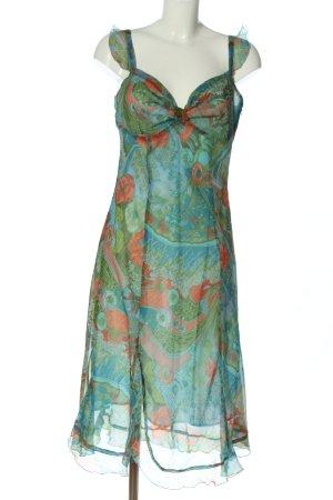 Caspar David Volante jurk abstract patroon elegant