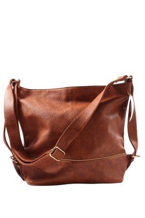 Caspar Crossbody bag brown casual look
