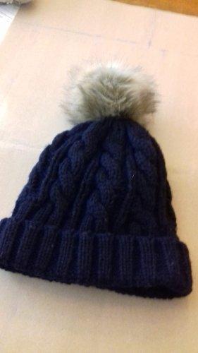 Caspar Knitted Hat dark blue