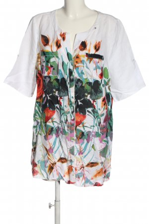 Cassani Shirt Blouse abstract pattern casual look