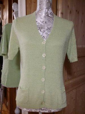 Cassani Sweater met korte mouwen lichtgroen